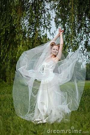 Beautiful Bride Fashionable Wedding 4