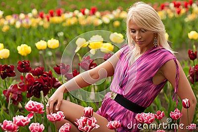 Tulip garden