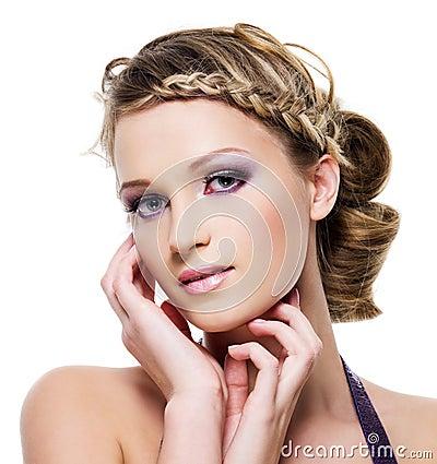 Free Beautiful Blond Woman Royalty Free Stock Image - 14001926