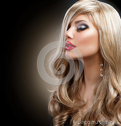 Free Beautiful Blond Woman Stock Photography - 27404982