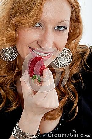 Beautiful blonde caucasian businesswoman