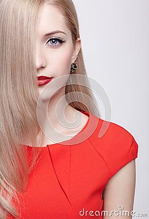 Beautiful Blonde Woman Royalty Free Stock Photos - Image ...