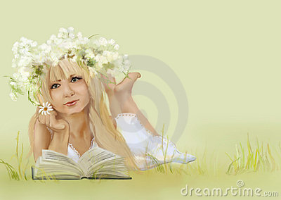 Beautiful blondie girl