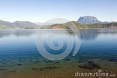 Beautiful Blue Lake