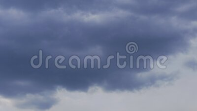 Beautiful blue sky with clouds background. Sky with clouds weather nature cloud blue. Blue sky with clouds and sun. Time lapse stock video footage
