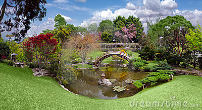 Beautiful Botanical Garden At The Huntington Library Stock Images - Image: 10582084
