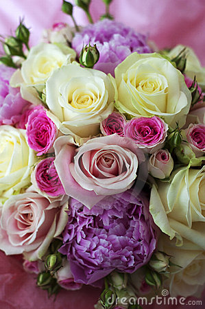 Free Beautiful Bouquet Of Flowers Royalty Free Stock Image - 18512596
