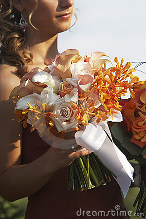 Free Beautiful Bouquet Of Wedding Flowers Royalty Free Stock Photo - 1564395