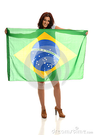 Beautiful Brazilian Fan