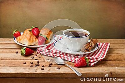Beautiful breakfast arrangement