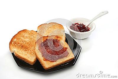 A beautiful breakfast scene