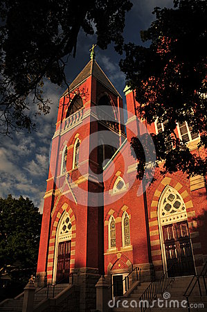 Beautiful Brick Church