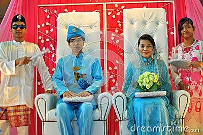 Beautiful bride and bridegroom Editorial Image