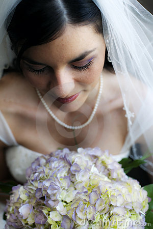 Beautiful Bride close-up