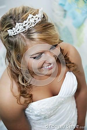Beautiful Bride close-up