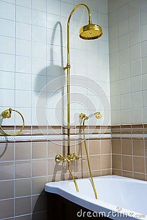 Beautiful bronze faucet