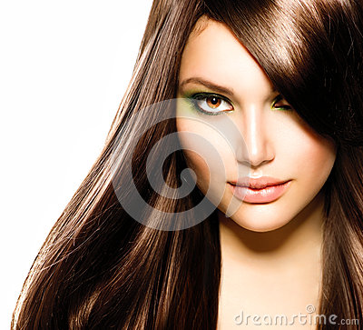 Free Beautiful Brunette Girl Royalty Free Stock Photography - 30227937