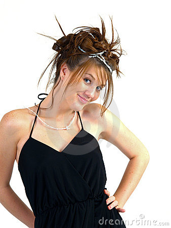 Beautiful Brunette Teen