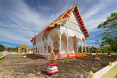 Beautiful Buddhism temple in Thailand