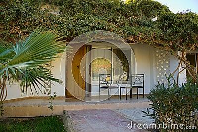 Beautiful bungalow at modern resort