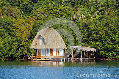 Beautiful bungalow over the sea