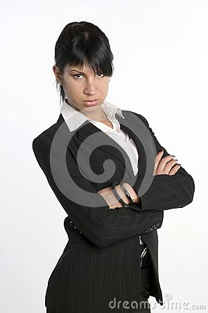 Beautiful businesswoman portrait