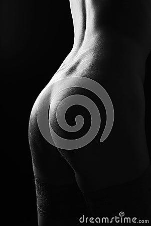 Beautiful buttocks