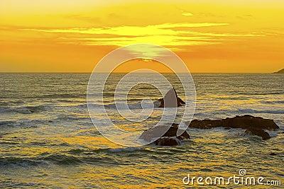 Beautiful California Sunset