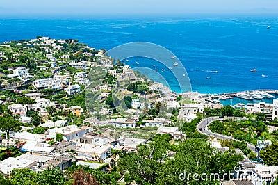 Beautiful Capri island
