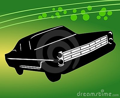 Beautiful Car Illustration