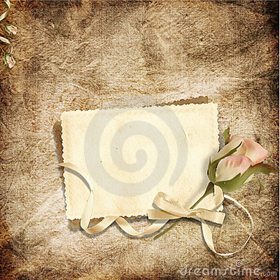 Beautiful card for congratulations or invitation