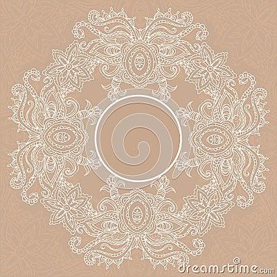 Beautiful card vector Vector Illustration