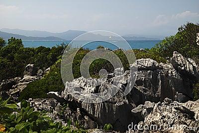 Beautiful Caribbean view