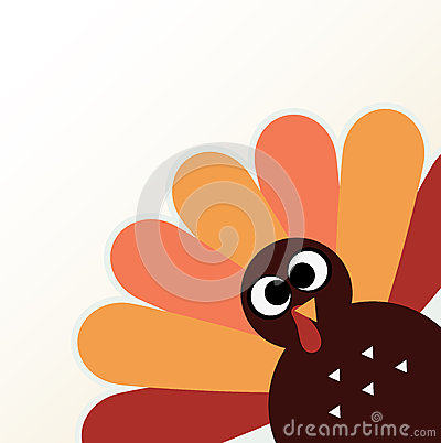 Free Beautiful Cartoon Turkey Bird Stock Photos - 35721013