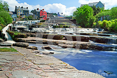 Beautiful cascades of Ennistymon