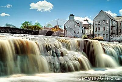 Beautiful cascades of Ennistymon