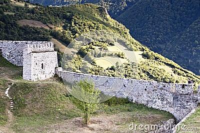 Beautiful castle ruin