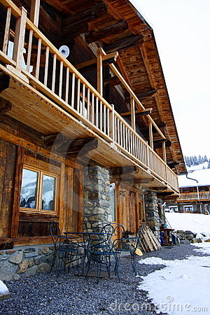 Beautiful chalet in the alps