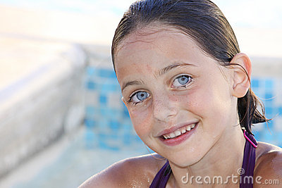 Beautiful child smiling