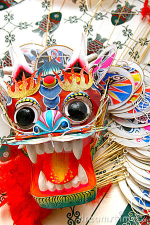 Beautiful Chinese Dragon Kite