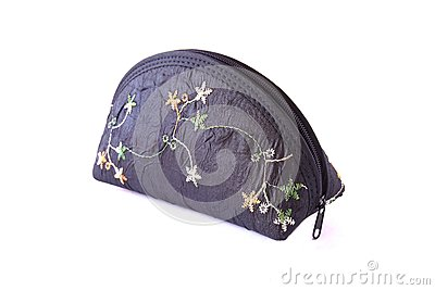 Beautiful chinese purse isolated