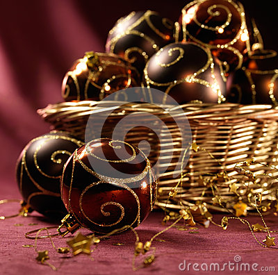 Free Beautiful Christmas Balls Stock Image - 27929331