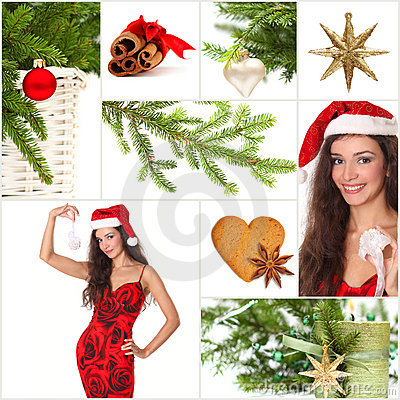 Beautiful Christmas collage