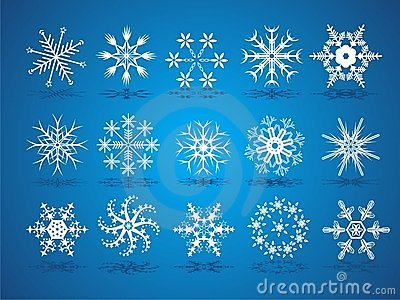 Beautiful christmas snowflake
