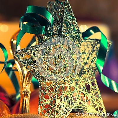 Beautiful christmas star