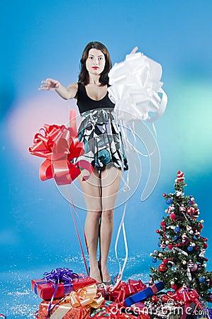 Beautiful Christmas Teen