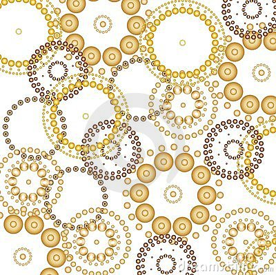 Beautiful circles background