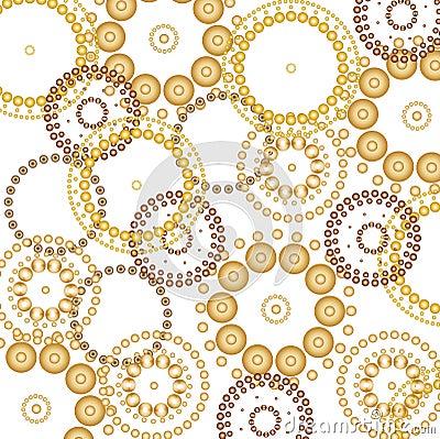 Beautiful circles background