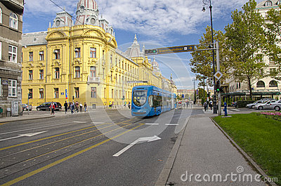 City of Zagreb, Croatia Editorial Stock Image