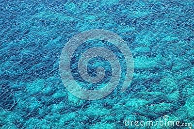 Beautiful clear, turquoise sea water